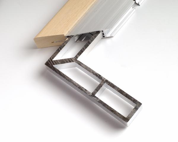 Hoekverbinding aluminium profiel